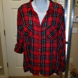 Ladies Rock & Republic flannel